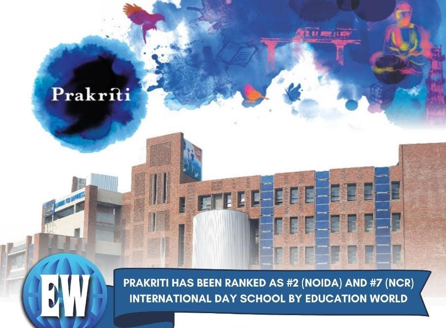 Education World Ranks Prakriti as Noida's #2